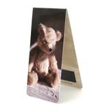 Marque-page magnétique, ours en peluche, assis