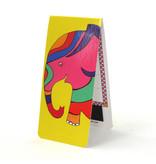 Marque-page magnétique, éléphant, illustration
