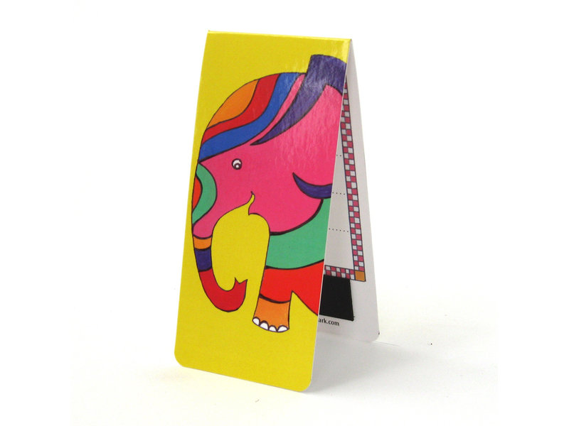 Magnetische Boekenlegger, Olifant, Illustratie