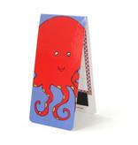Magnetische Boekenlegger, Octopus, Illustratie
