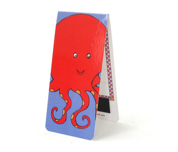 Magnetic Bookmark, Octopus, illustration