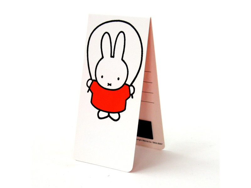 Magnetic Bookmark, Miffy skipping rope