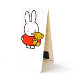 Magnetisches Lesezeichen, Miffy mit Teddybär