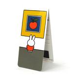 Magnetisches Lesezeichen, Miffy im Museum