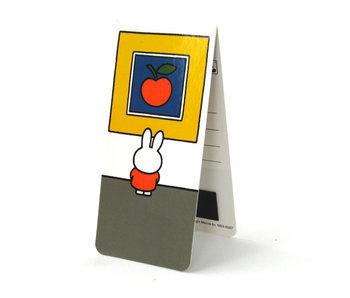 Marque-page magnétique, Miffy au musée