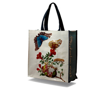 Shopper bag, Butterfly, M.S. Merian (Teylers)