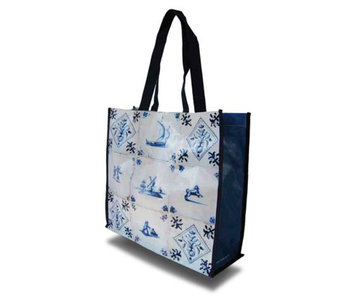 Shopper W, Delft Blue Tiles
