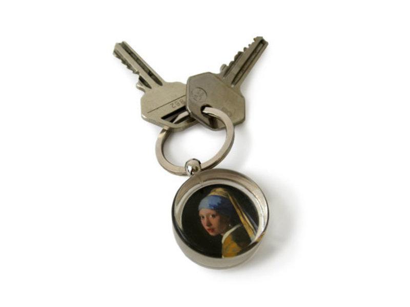 Sleutelhanger in giftbox, Meisje met de parel, Vermeer