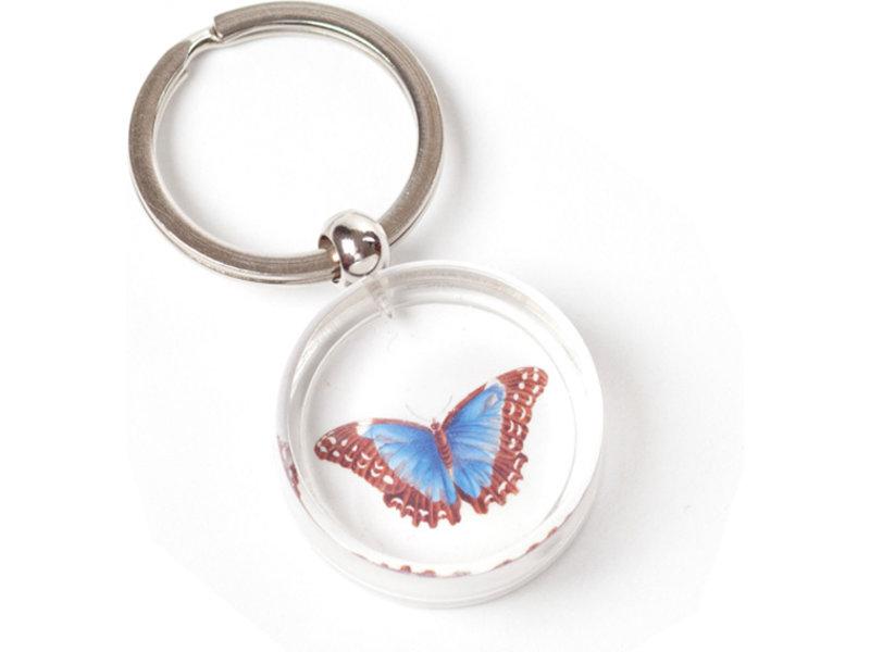 Llavero en caja de regalo, Mariposa, Merian