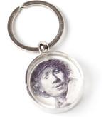 Sleutelhanger in geschenkverpakking, Zelfportret Verbaasde blik, Rembrandt