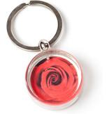 Sleutelhanger in geschenkverpakking, Rode roos