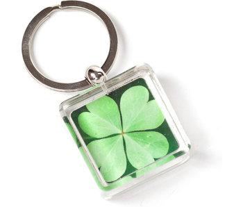 KeyRingz in giftbox W, Four Leaf Clover