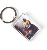 Sleutelhanger in geschenkverpakking, Het melkmeisje, Vermeer