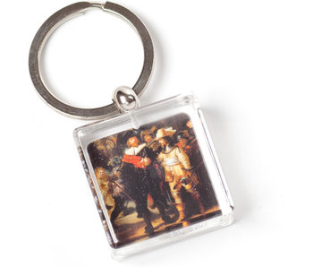 KeyRingz in giftbox W, SQ, Rembrandt, The Night Watch