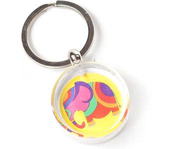 Schlüsselbund in Geschenkbox, Elefant, Simon