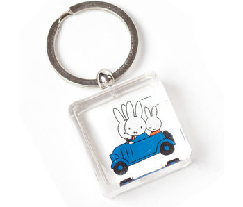 Schlüsselbund, Miffy fährt Auto