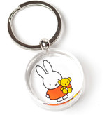 KeyRingz in giftbox W, Miffy holding a teddy bear