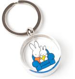 Porte-clés, Miffy sur une chaise avec père