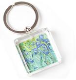 Sleutelhanger in geschenkverpakking, Irissen, Van Gogh