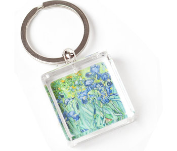 Llavero en caja de regalo, Iris, Van Gogh