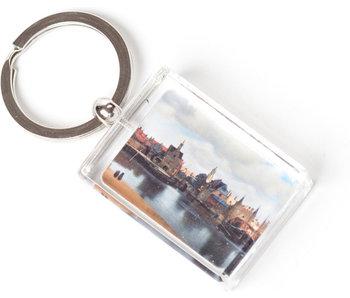 Porte-clés, vue de Delft, J. Vermeer