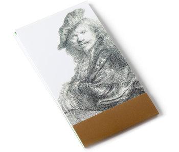 Notelet, Self-Portrait, Rembrandt