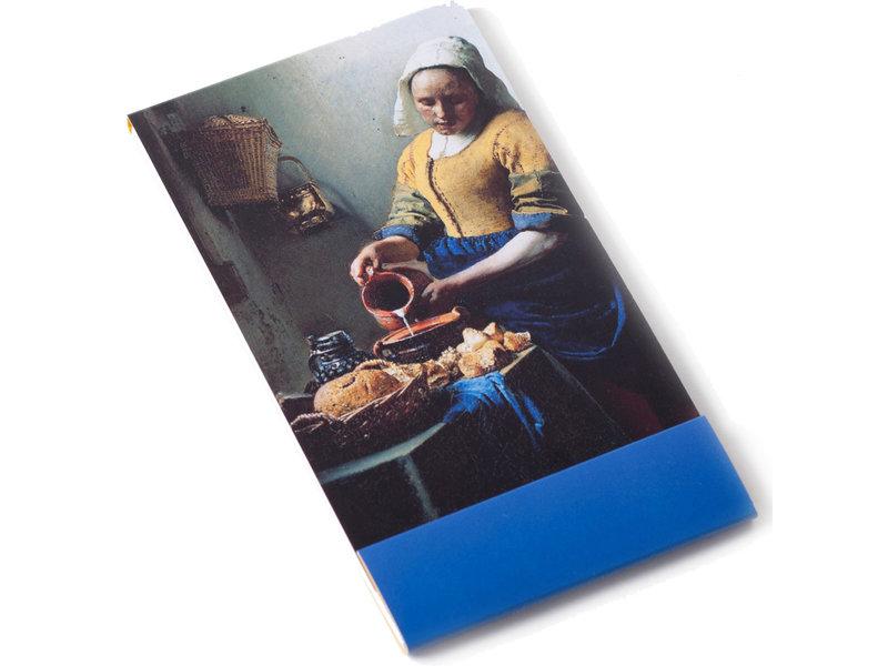 Cuaderno, La lechera, Vermeer