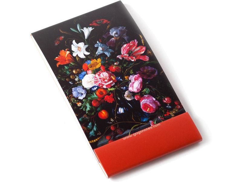 GoGoNotes ,Vaas met bloemen, De Heem