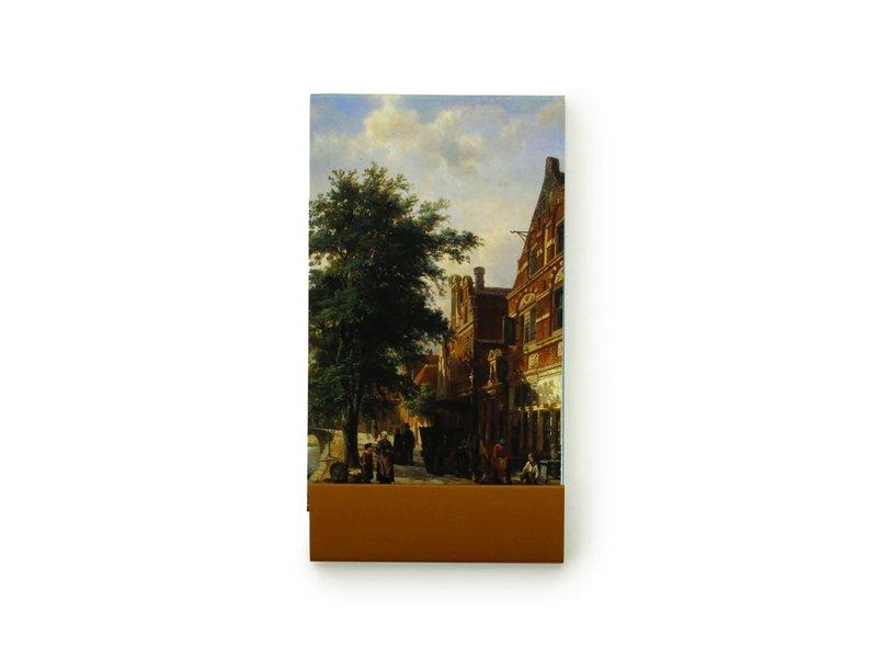 GoGoNotes, Zuiderhavendijk in Enkhuizen, Springer