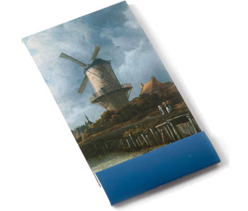 Notelet, The Windmill at Wijk bij Duurstede, Van Ruisdael