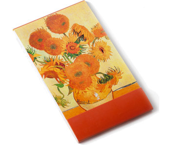 Notelet, Zonnebloemen, Van Gogh