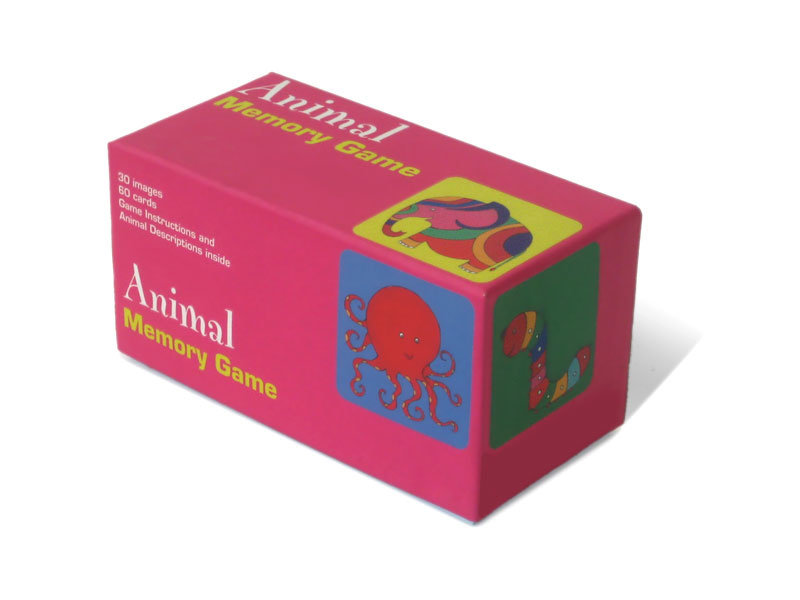 Memory Game, Animals, illustrations