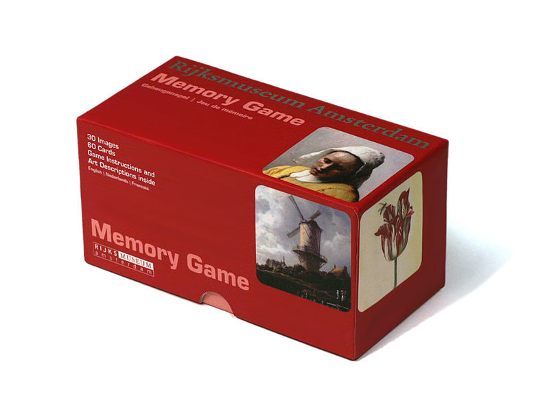 Memory Game, Rijksmuseum masterpieces