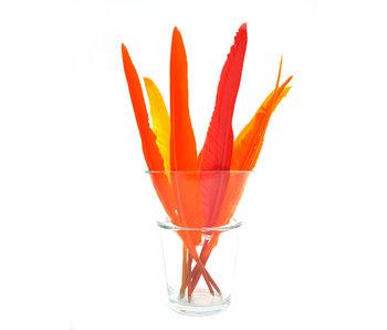 Glazen display,  Verenpennen