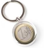 Porte-clés dans une boîte cadeau, Euro Currency