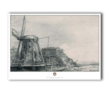 Poster, 50 x 70, The Mill, Rembrandt
