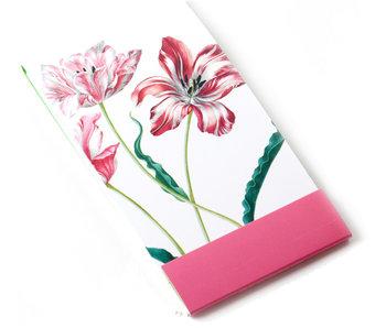 Notelet, Drie tulpen, Merian, Teylers Collectie