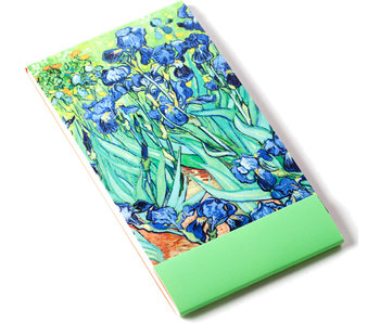 Notelet, Iris, Van Gogh