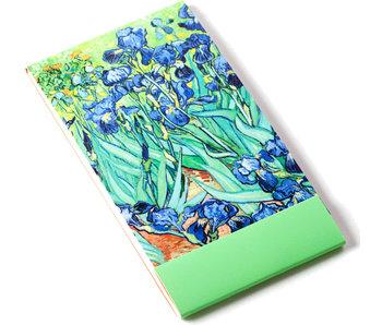 Notelet, Irissen, Van Gogh