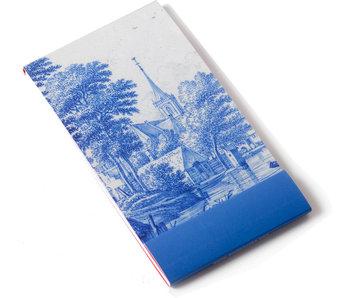 Notelet, Landschaft, Delfter Blau, Frytom