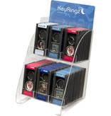 Display voor sleutelhangers met doosje