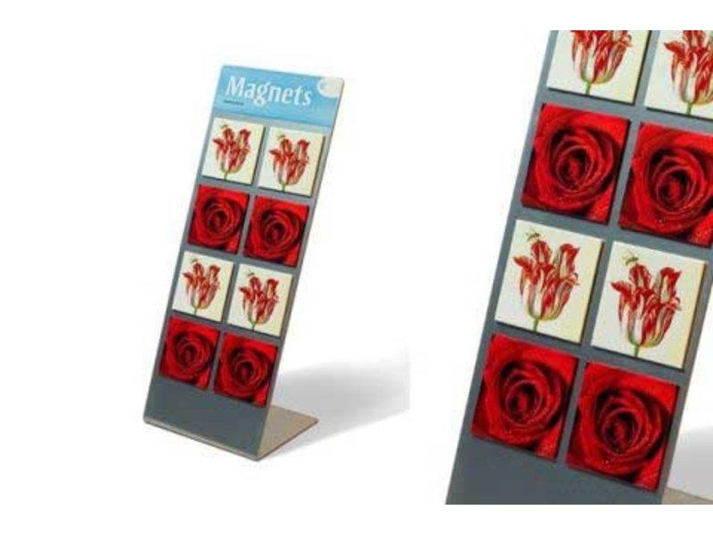 Display voor koelkastmagneten