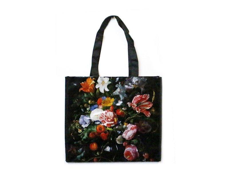 Einkaufstasche, De Heem, Vase mit Blumen