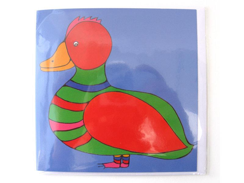 Double carte, CL, Duck, H. Simon, illustration Arie