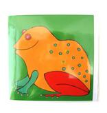 Card, Frog,H. Simon, illustration arie