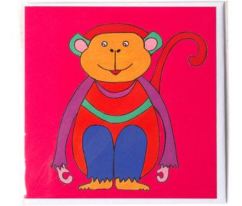 Doble tarjeta, Mono, H. Simon, Ilustración aria