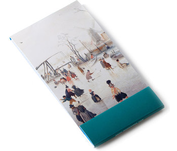 Notelet, Winterlandschap, Avercamp