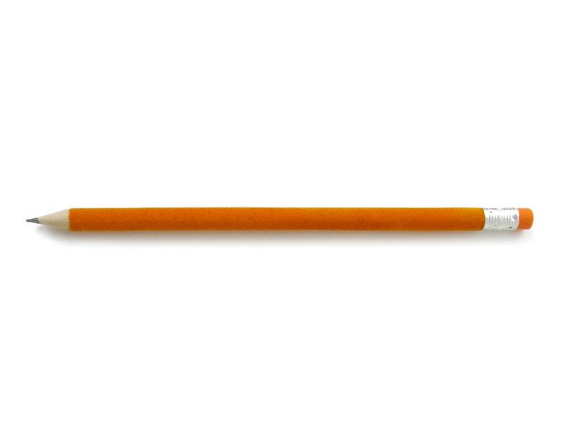 Crayon velours, Orange