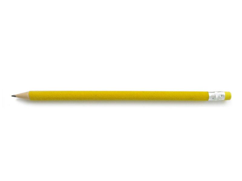 Crayon velours, Jaune