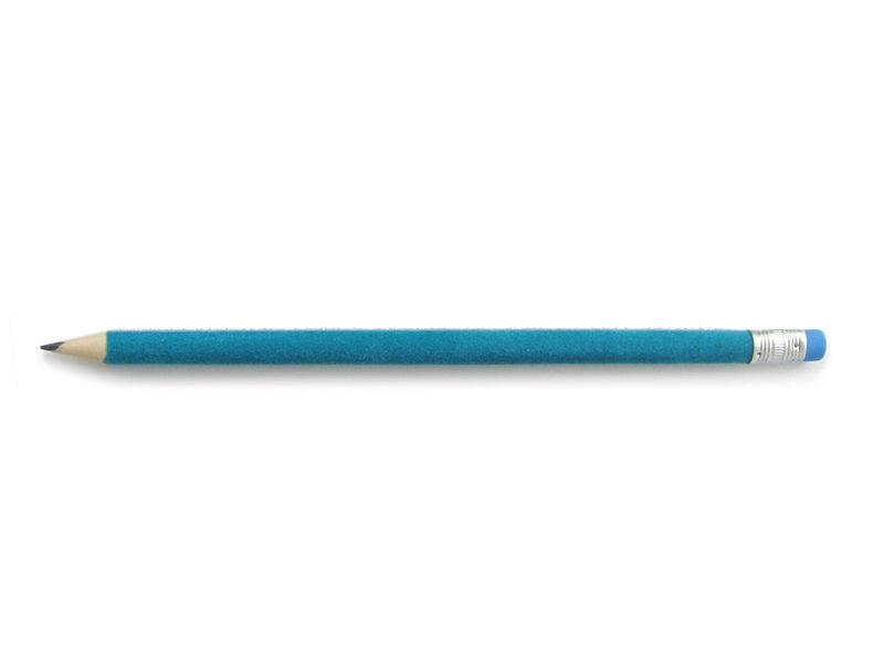 Crayon velours, Turquoise
